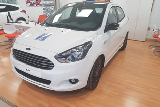 FORD Ka Ka+ 1.19 Ti-VCT White & Black Edition
