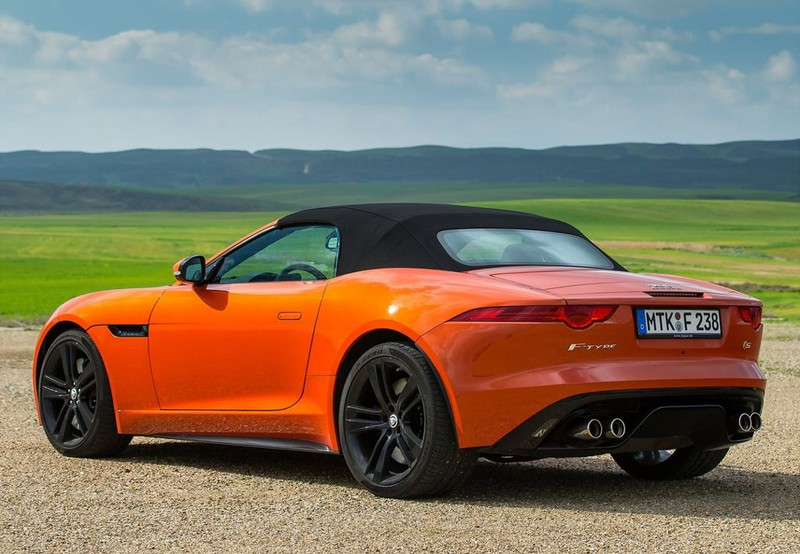 F-Type Convertible 3.0 V6 R-Dynamic Aut. 380