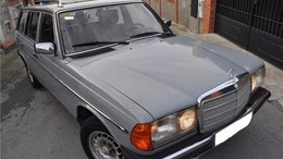 MERCEDES-BENZ 240D TD FAMILIAR 100%ORIGINAL-TECHO CRISTAL-D/A-C/C-
