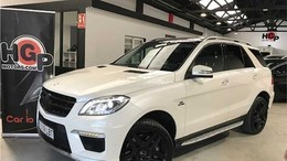 MERCEDES-BENZ Clase M ML 63 AMG 4M Aut.