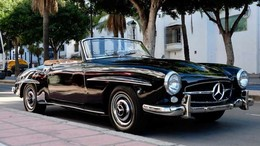 MERCEDES-BENZ 190  SL W121 B2*RESTORED/RESTAURADO*