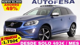 VOLVO XC60 T6 2.0 306cv R-Design Momentum AWD 5p Auto S/S # IVA DEDUCIBLE, NAVY, TECHO, BARRAS