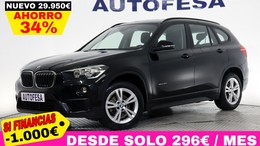 BMW X1  16d 116cv sDrive 5p S/S # IVA DEDUCIBLE, BARRAS, BLUETOOTH