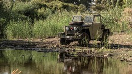 LAND-ROVER SERIES Santana Military Lightweight Militar