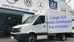 VOLKSWAGEN Crafter PRO Chasis BMT 35 R.Doble BL 136