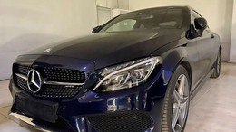 MERCEDES-BENZ Clase C 200 *COUPE*AMG*LED*PANORAMA*