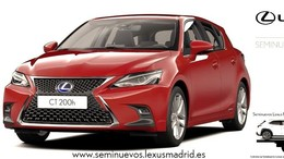 LEXUS CT   200h Executive Navibox. 259€/mes.