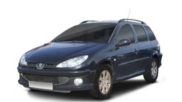 PEUGEOT 206 SW 2.0HDI X-Line 90