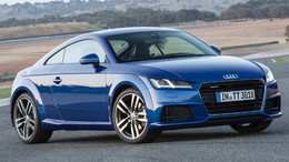 AUDI TT Coupé 1.8 TFSI Black line edition S-T