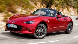 MAZDA MX-5 RF 2.0 Skyactiv-G i-Stop & i-Eloop Dark Red Edition