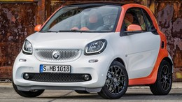 SMART Fortwo Coupé EQ Edition One