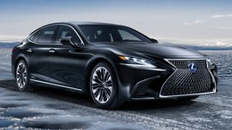 LEXUS LS 500h Luxury Art Wood L-White RWD