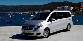Monovolumen a prueba: Mercedes V 220 CDI 2014