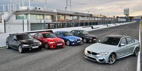 BMW M3: tres décadas a toda velocidad