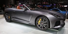 El nuevo Jaguar F-Type SVR se presenta en Ginebra