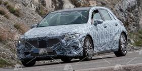 Nuevas fotos y vídeo espía del nuevo Mercedes Clase A 2018