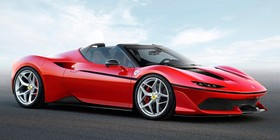 Nuevo súper Ferrari J50 2017