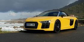 Prueba Audi R8 Spyder V10: la primavera llega a Autocasión