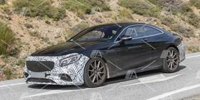 Fotos espía del Mercedes Clase S AMG Coupé 2018
