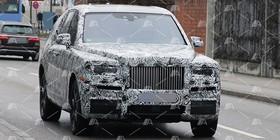 Fotos espía del Rolls Royce Cullinan, el SUV de Rolls Royce