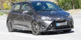 Fotos y vídeo espía del Toyota Yaris GRMN 2017
