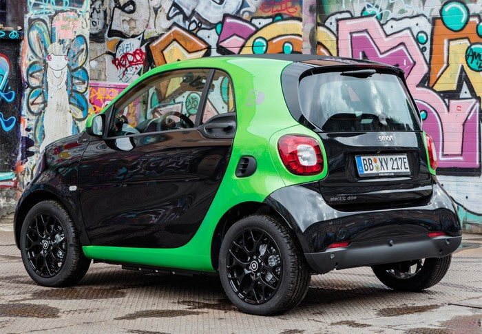 Fortwo Coupé Electric Drive