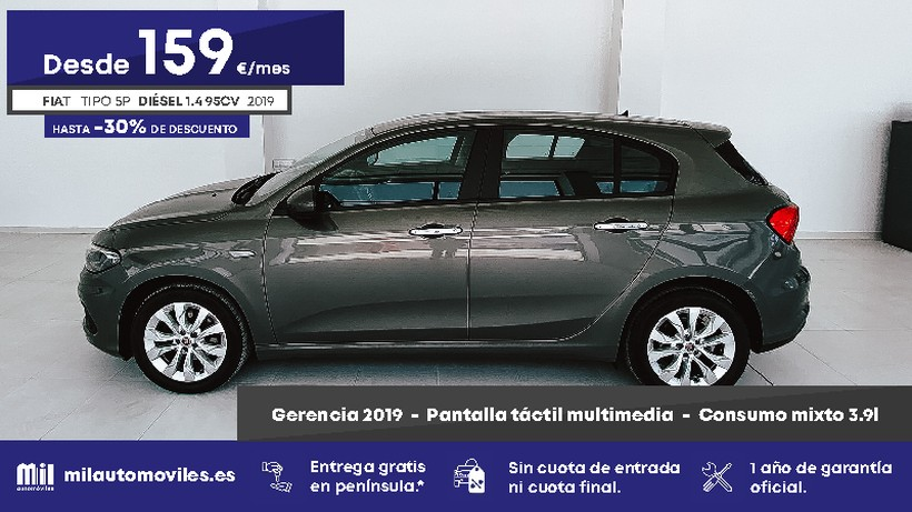 FIAT Tipo 1.3 Multijet II Lounge Plus