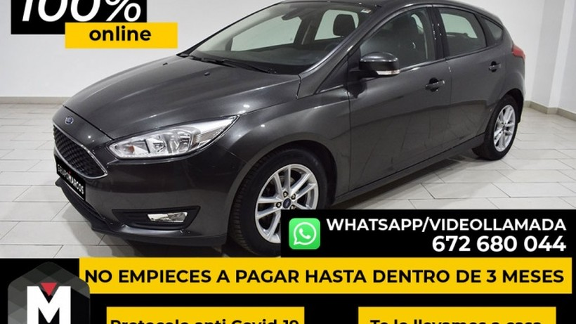 FORD Focus 1.6 TI-VCT Trend (flotas)