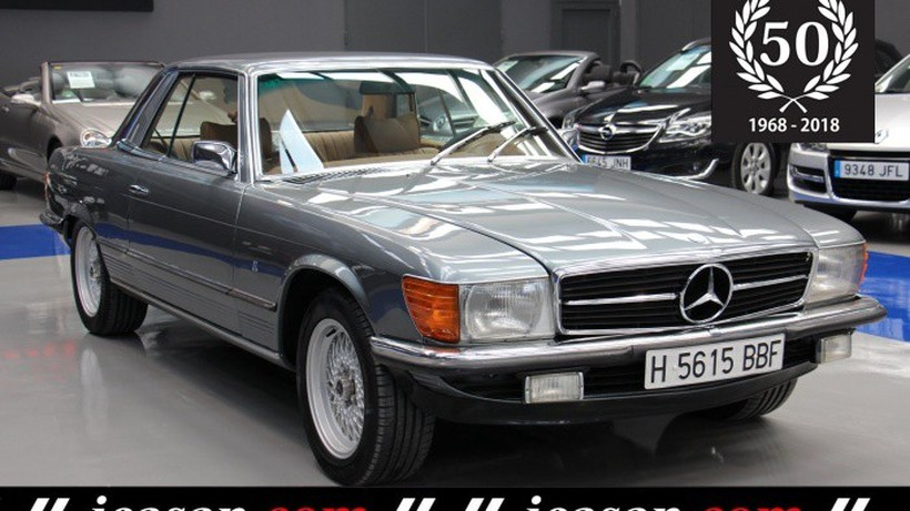 MERCEDES-BENZ 450 SLC (107)