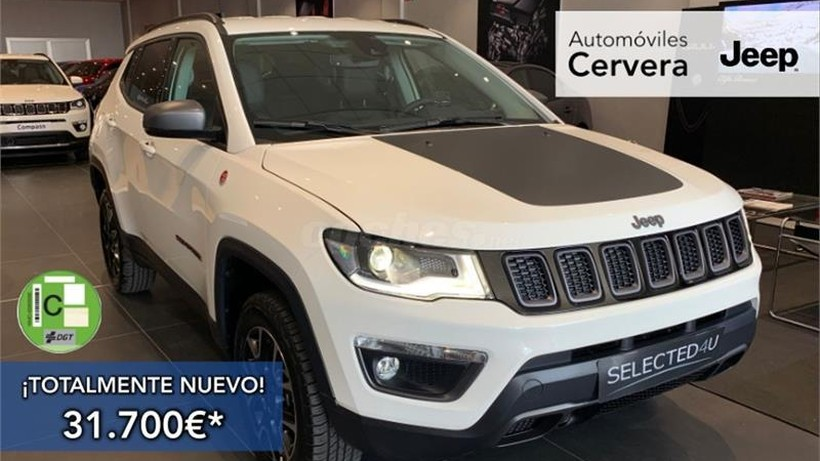 Jeep Compass 2.0 Mjet 128kW Trailhawk 4x4 Active Dr.