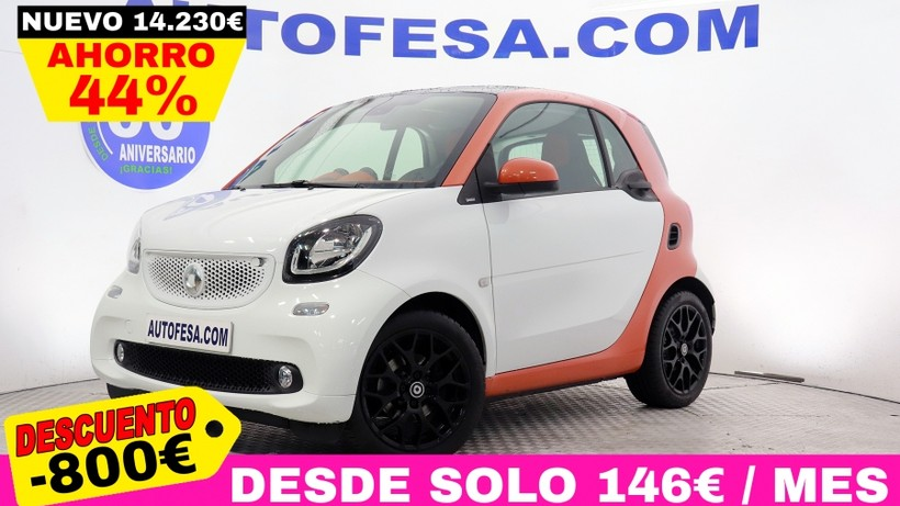 SMART Fortwo FORTWO FORTWO Coupé 1.0 71cv Passion 3p # TECHO PANORAMICO