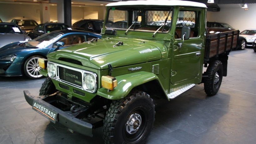 Toyota Land Cruiser HJ45 Flatbed