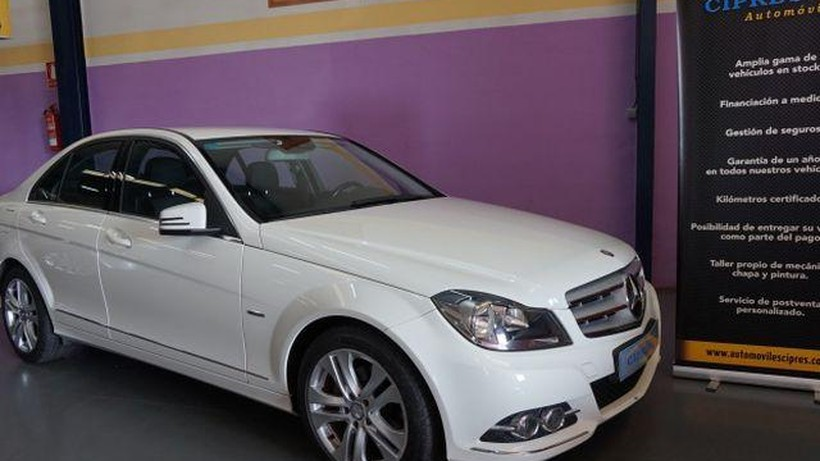 MERCEDES Clase C 200CDI BE Avantgarde