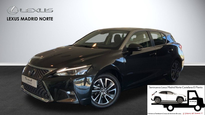 LEXUS CT   200h Black & Grey Edition. 293€/mes.