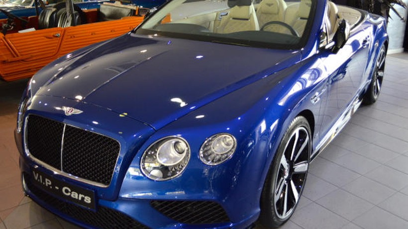 "BENTLEY Continental  GT Convertible V8 S ""COMO NUEVO"""