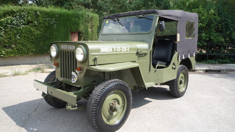 JEEP WILLYS Willys Viasa CJ3B