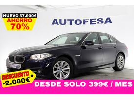 BMW Serie 5 525d 218cv xDrive 4p Auto # IVA DEDUCIBLE,CUERO,GPS