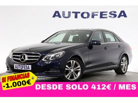 MERCEDES-BENZ Clase E 300 BLUETEC 231cv AVANTGARDE Auto 4p S/S # IVA DEDUCIBLE, NAVY, LEVAS