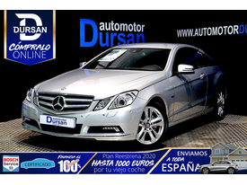 MERCEDES-BENZ Clase E  Coupe 220 CDI Blue Efficiency Avantg.