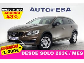 VOLVO V60 Cross Country 2.0 D3 150cv Kinetic Auto 5p S/S # IVA DEDUCIBLE, NAVY, BARRAS, PARKTRONIC