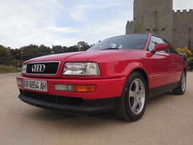 AUDI Coupé 2.6. A.A. only 2.600km!!!!!!!!!!!!!!!!!!!