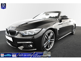 BMW Serie 4 420 420iA Cabrio M-Sport LED/NAVI/H-UP/D-ASS/LHZ/19