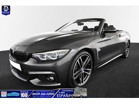 BMW Serie 1 114 420iA Cabrio M-Sport LED/NAVI/D-ASS/M-DISPLAY/19