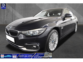 BMW Serie 4 420 420dA xDrive G-Coupe Luxury LED/NAV/LEDER/SHZ/18