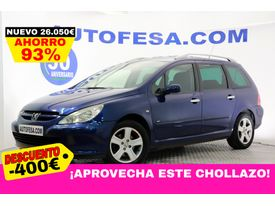 PEUGEOT 307  SW SW 1.6 HDi 110cv Pack 7 Plazas 5p #TECHO PANORAMICO