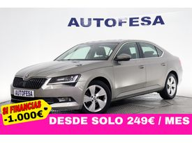 SKODA Superb 1.6 TDI CR AMBITION DSG 123cv S/S # IVA DEDUCIBLE, NAVY, LEVAS, BIXENON