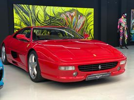 FERRARI 355 F F1 GTB Berlinetta - Libro Revisiones - Impecable