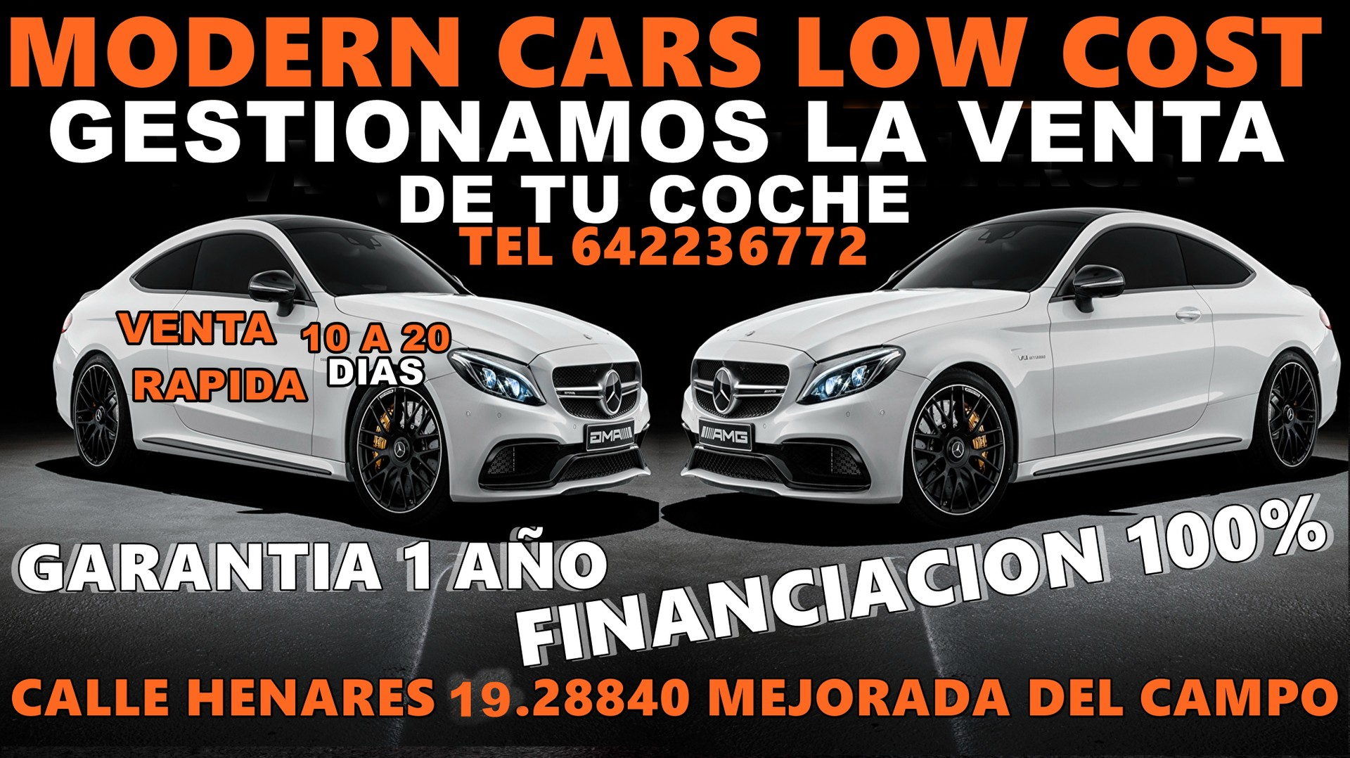 Logo MODERN CARS LOW COST